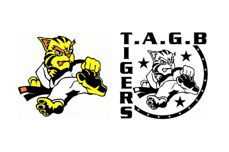 Taekwondo Association of Great Britain Tigers Logo